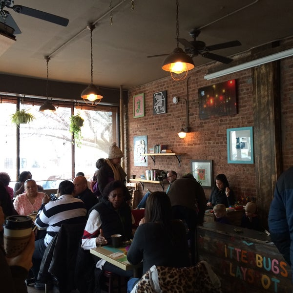 Photo taken at PLG Coffee House and Tavern by Rebecca C. on 2/7/2015
