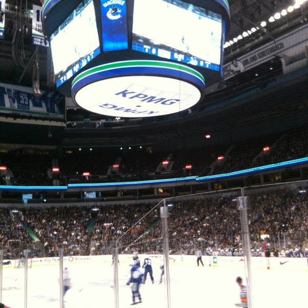 Photo taken at Rogers Arena by Sarah Lei T. on 1/21/2013