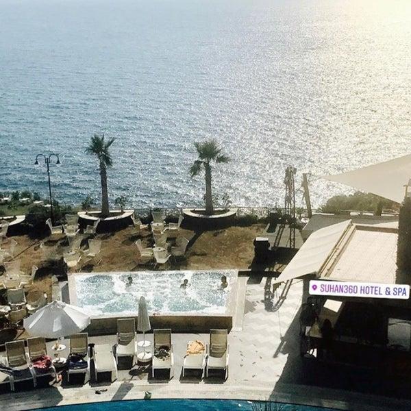 8/29/2017 tarihinde Enteroğluziyaretçi tarafından Suhan360 Hotel & Spa'de çekilen fotoğraf