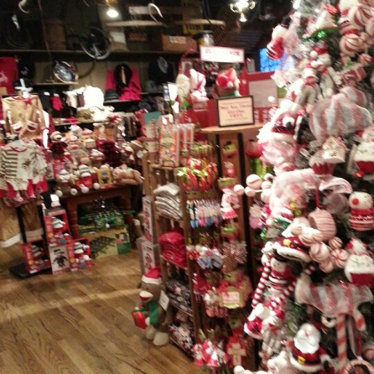 photo taken at cracker barrel old country store by eric h on 1123 - Cracker Barrel Store Christmas Decorations