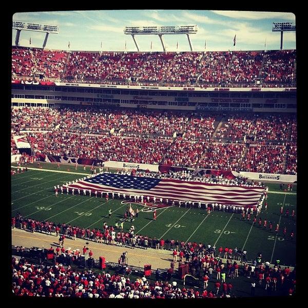 Photo taken at Raymond James Stadium by Raymond James Stadium on 12/9/2012