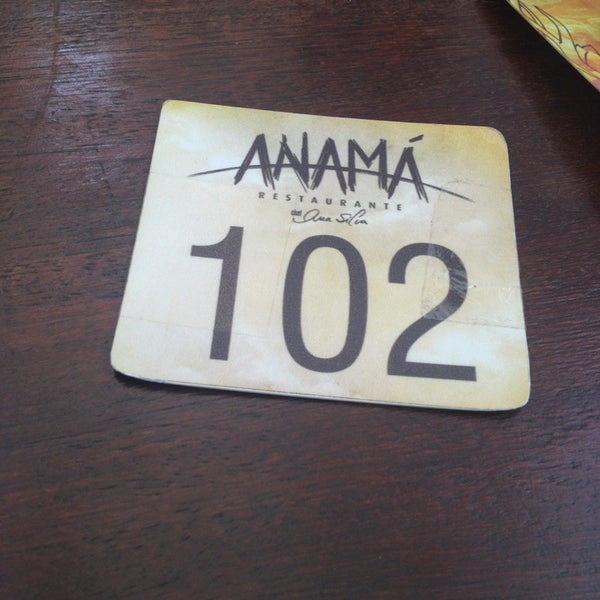 Foto tirada no(a) Anamá Restaurante por Renata B. em 6/21/2013