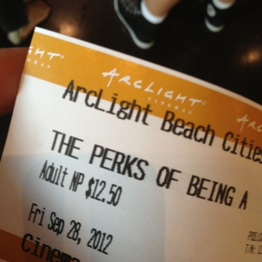 Photo taken at ArcLight Beach Cities by Joanne P. on 9/28/2012