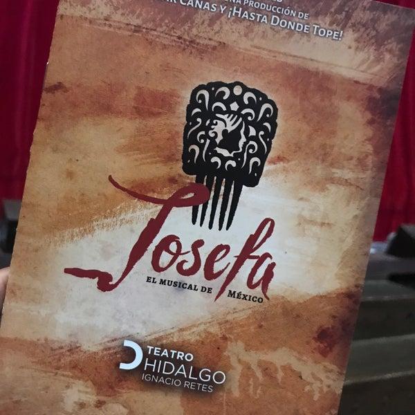 Foto tomada en Teatro Hidalgo por Obed M. el 8/27/2017