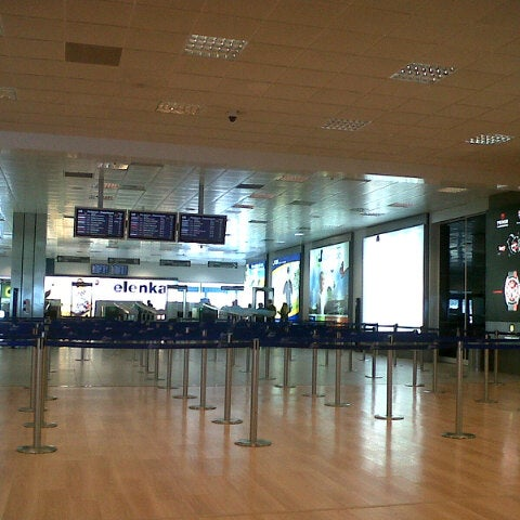 Photo taken at Palermo Airport (PMO) by Matías U. on 2/24/2013