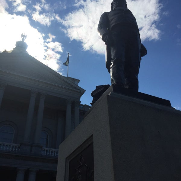 Photo taken at New Hampshire State House by Tanveer A. on 7/9/2017