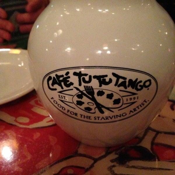 Photo taken at Café Tu Tu Tango by Vladimir S. on 1/14/2013