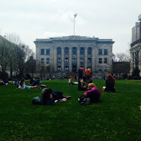 Photo taken at Harvard Medical School Quadrangle by Ally R. on 4/14/2014