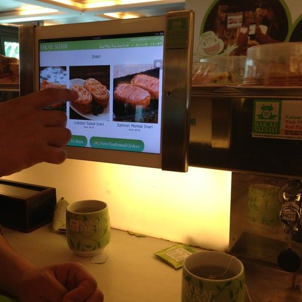 Photo taken at Sakae Sushi by BellaBelle L. on 3/2/2013