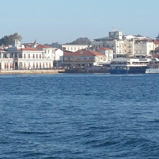 Photo taken at Büyükada Mavi Marmara Motor İskelesi by Mustafa Mutlu I. on 10/15/2013