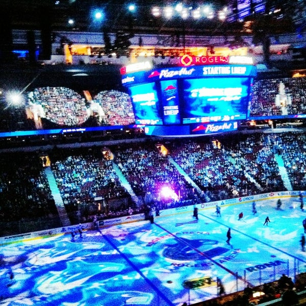 Photo taken at Rogers Arena by Alex R. on 1/24/2013