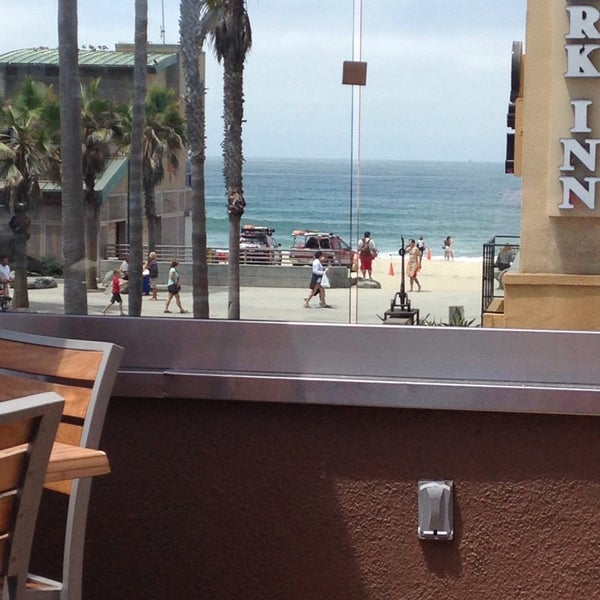 Photo taken at Firehouse Pacific Beach by Erin A. on 7/28/2013