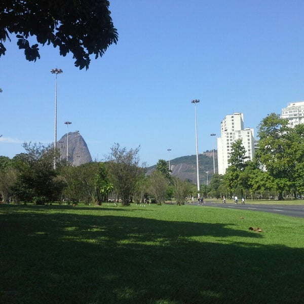 Photo taken at Flamengo Park by Alexandre C. on 4/28/2013
