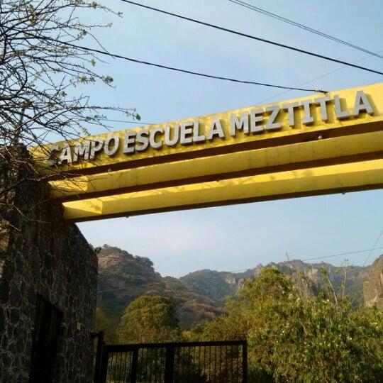 Foto tirada no(a) Campo Escuela Scout Meztitla por Jhon M. em 1/19/2013