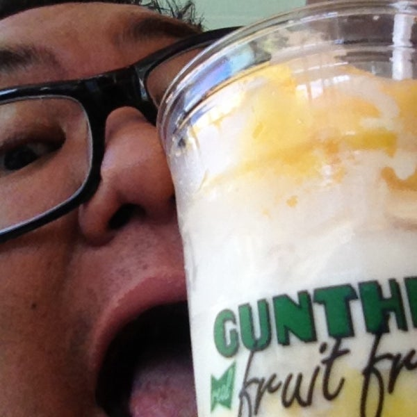 Photo taken at Gunther's Quality Ice Cream by Darel A. on 7/14/2013