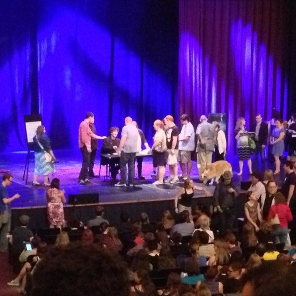 Photo taken at Lisner Auditorium by Michael D. on 6/22/2013
