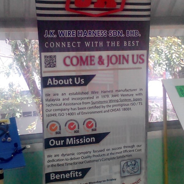 photos at jk wire harness sdn bhd 1 tip from 160 visitors rh foursquare com jk wire harness sdn bhd johor jk wire harness