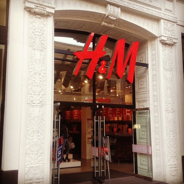 Photo taken at H&M by River M. on 7/2/2013
