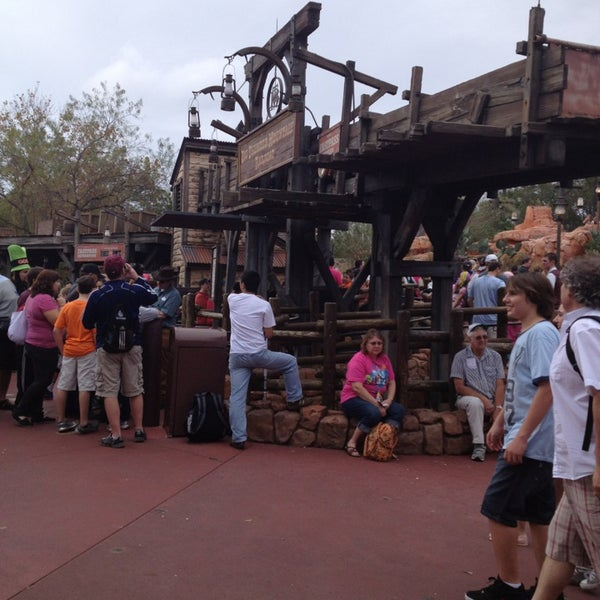 Photo taken at Frontierland by Aimee B. on 1/3/2013