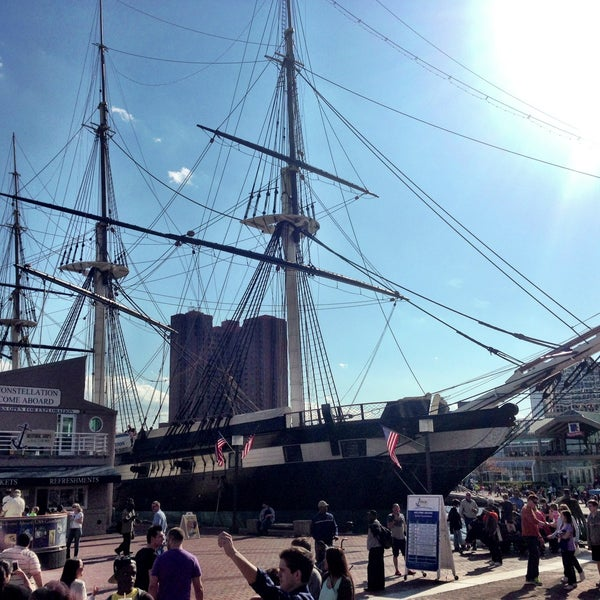 Photo taken at USS Constellation by Justin ⚓. on 4/13/2013