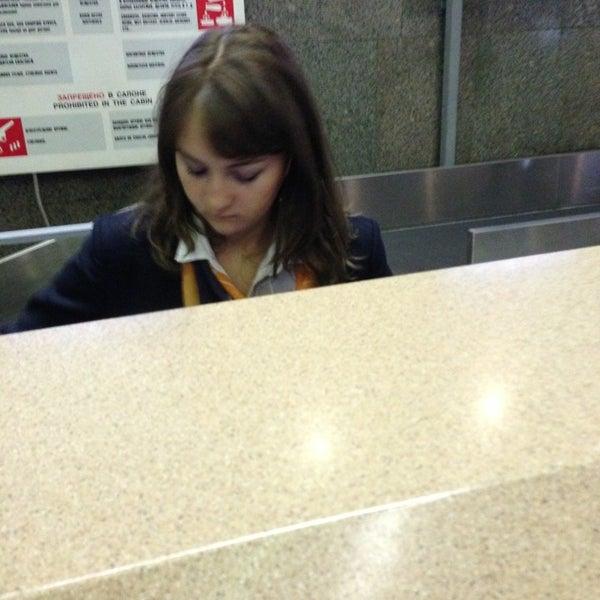 Photo taken at Check-in desk by ндрей . on 12/30/2012