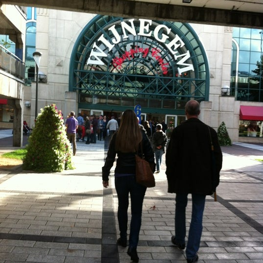 Photo taken at Wijnegem Shopping Center by Stephanie💫 V. on 10/6/2012