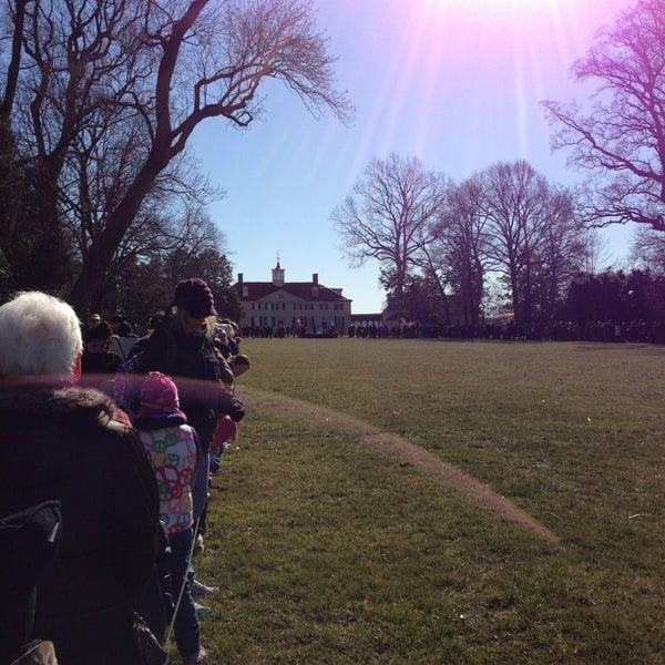 Photo taken at George Washington's Mount Vernon by James D. on 2/18/2013