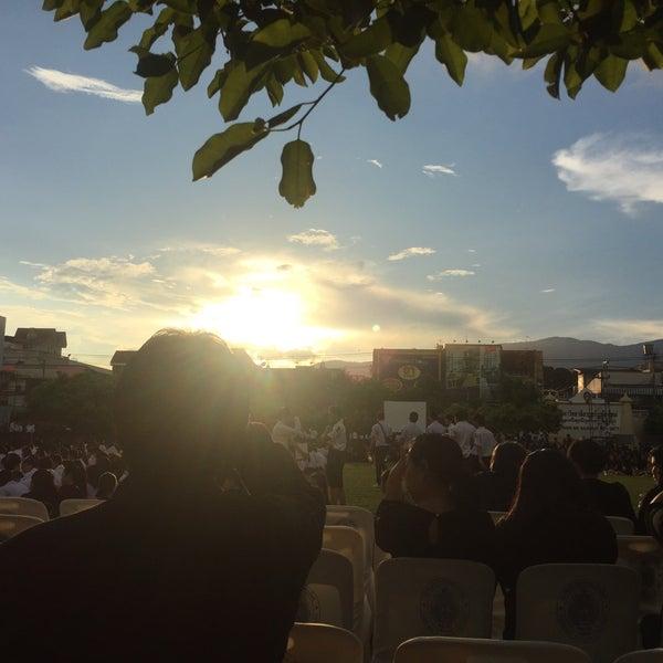 Photo taken at Chiang Mai Rajabhat University by Waratta K. on 10/28/2016
