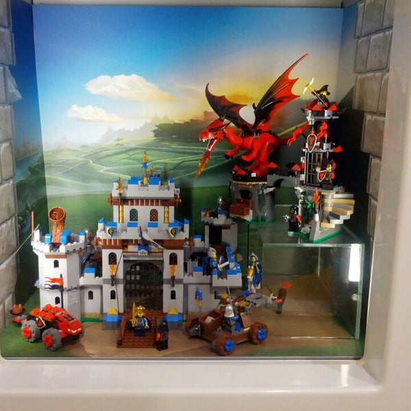 Photo taken at The LEGO Store by Stephanie M. on 8/22/2013