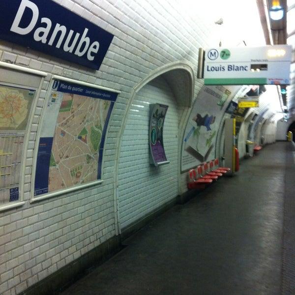 Métro Danube [7bis] - Amérique - 1 tip