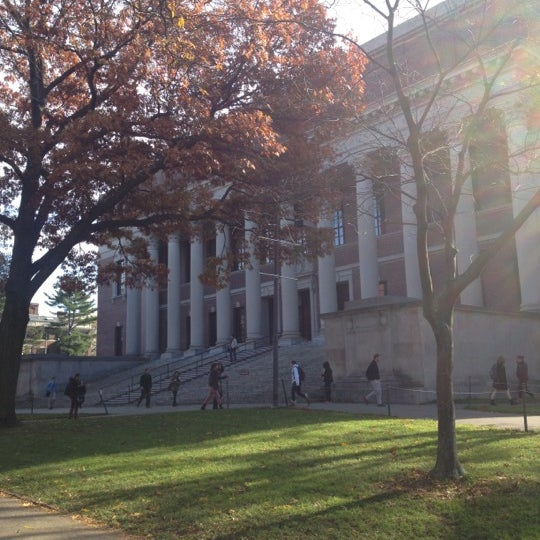 Photo taken at Widener Library by Priscilla F. on 11/6/2012