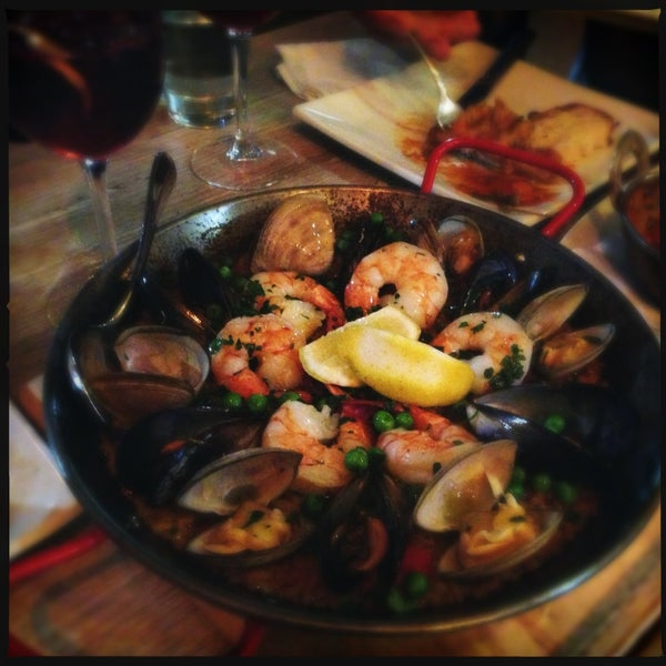 Liked everything here! Get the paella and for tapas, you can't go wrong with chorizo & prawn skewers and the lamb burger.