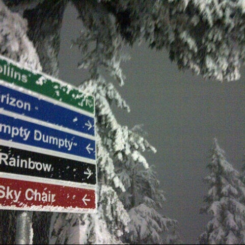 Photo taken at Cypress Mountain Ski Area by Craig C. on 2/23/2013