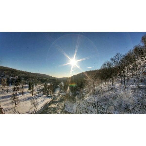 Photo taken at Croton Gorge Park by Milton on 1/23/2014
