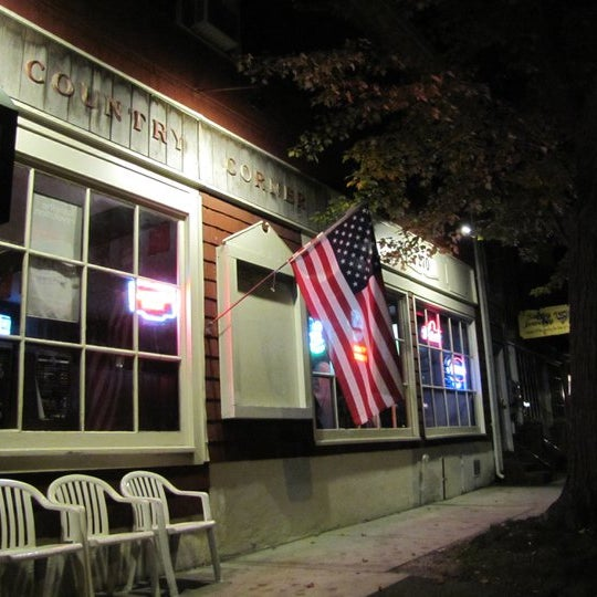 the country corner bar