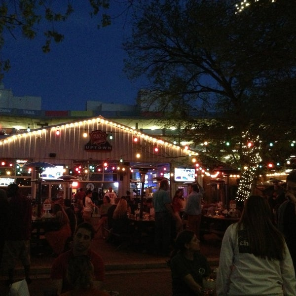 Photo taken at Katy Trail Ice House by Lee D. on 4/1/2013