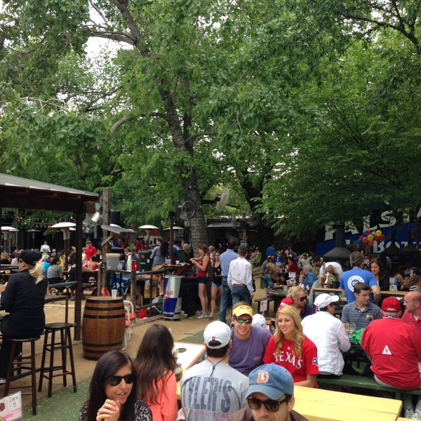Photo taken at Katy Trail Ice House by Chris M. on 4/21/2013