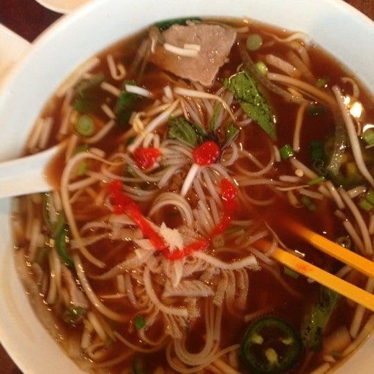 Photo taken at Miss Saigon Vietnamese by P Pam P. on 12/1/2012