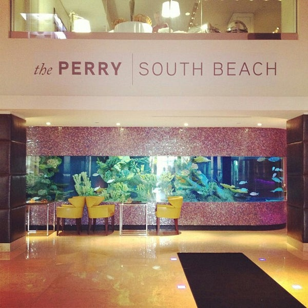 Photo taken at The Perry South Beach Hotel by Sara V. on 1/8/2013
