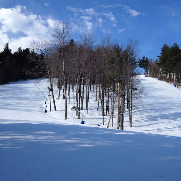 Photo taken at Pat's Peak Ski Area by Amy R. on 3/15/2014