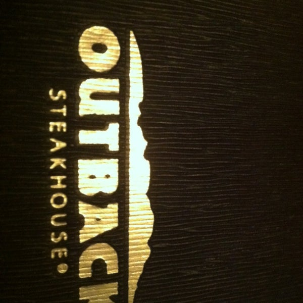 Photo taken at Outback Steakhouse by CHuck B. on 3/1/2013