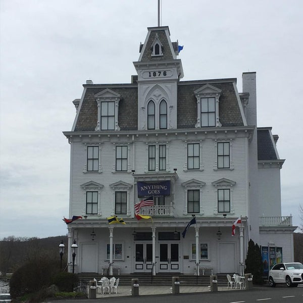 Photo taken at Goodspeed Opera House by Brian G. on 4/11/2016
