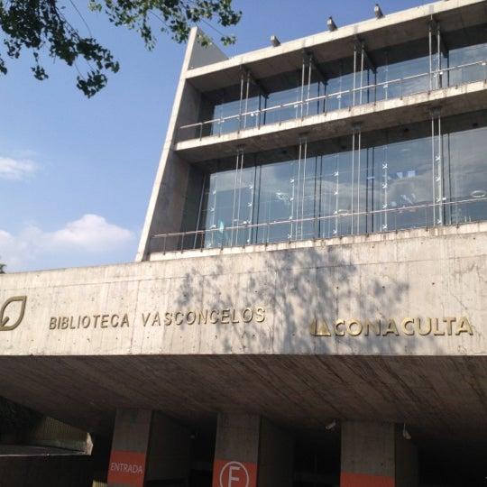 Photo taken at Biblioteca Vasconcelos by Jaime P. on 11/30/2012