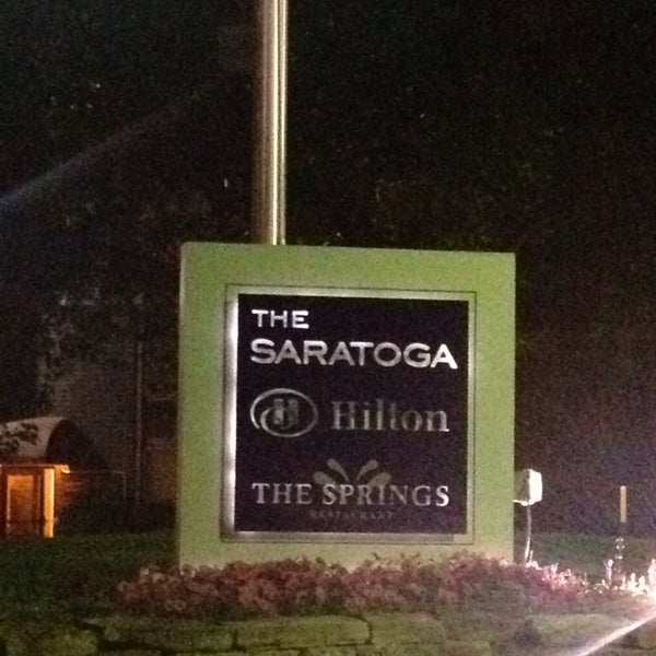 Photo taken at The Saratoga Hilton by Paul W. on 7/12/2014