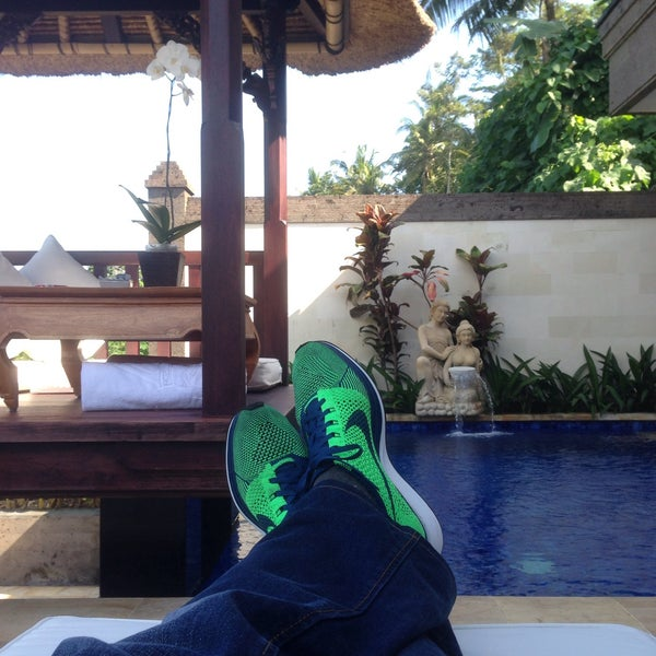 Photo taken at Viceroy Bali by Remy Irwan on 6/6/2015
