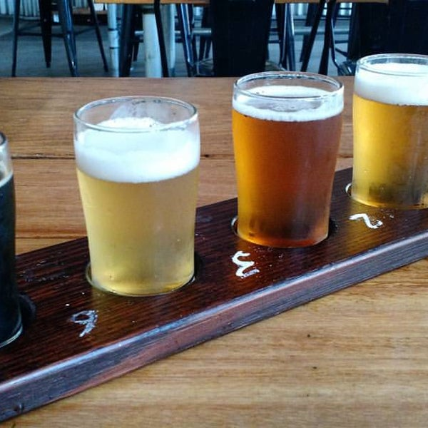 Photo taken at Rocks Brewing Co by Craig C. on 10/14/2015