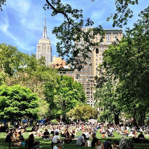 Foto diambil di Madison Square Park oleh Peter S. pada 5/16/2013