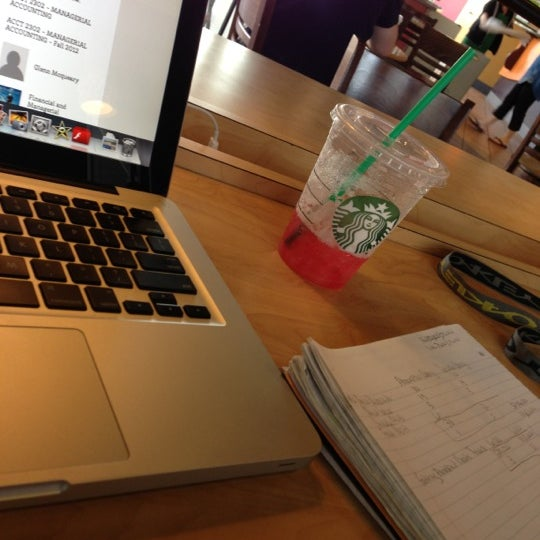 Photo taken at Starbucks by Alex V. on 10/21/2012