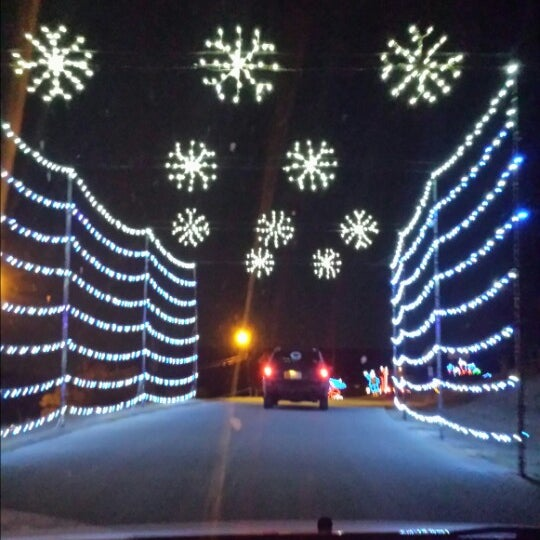 Photo Taken At BLORA Nature In Lights By Lynn Y. On 12/18