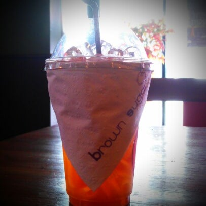 Photo taken at brown sugar cafe by Bumrungsin S. on 9/30/2012